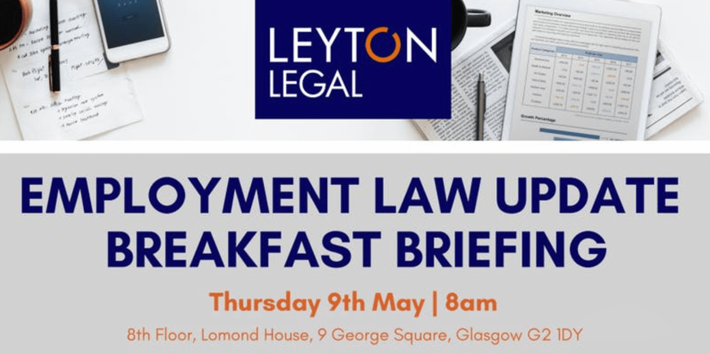 Leyton Legal - Employment Law Update